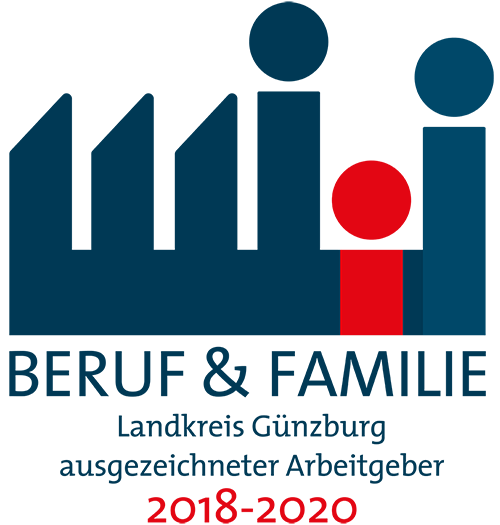 ausgzeichneter Arbeitgeber Günzburg für Beruf und Familie