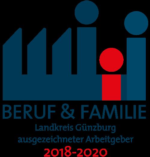 ausgzeichneter Arbeitgeber Günzburg für Beruf und Familie