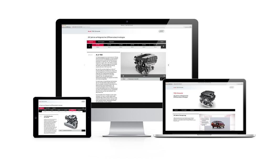 Die Audi TDI Chronik – alle TDI-Motoren der vergangenen 25 Jahre