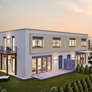 haus 3d architektur rendering