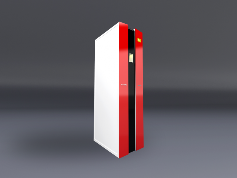 3D Produktvisualisierung Automat