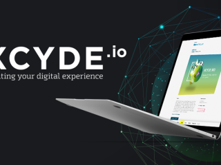 XCYDE Webseite Corporate Design