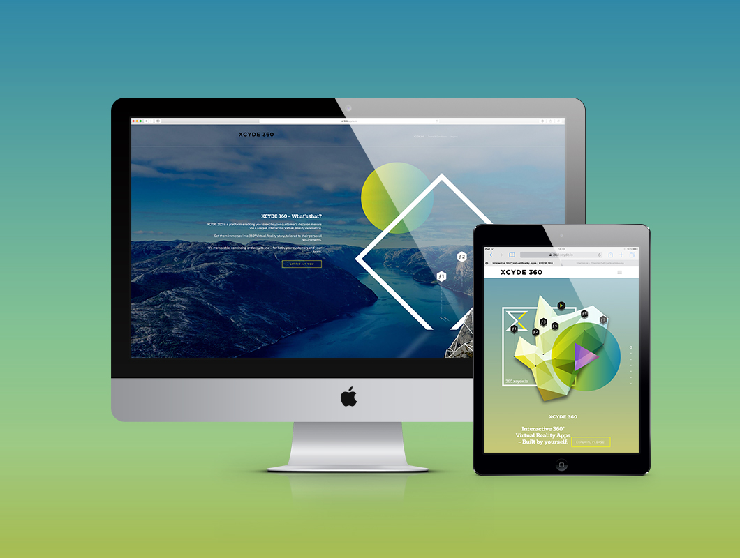 XCYDE_360_Website_responsive
