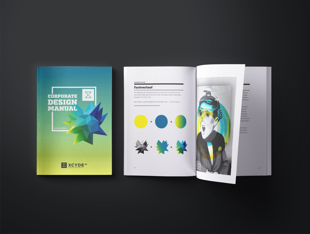 XCYDE Corporate Design Manual