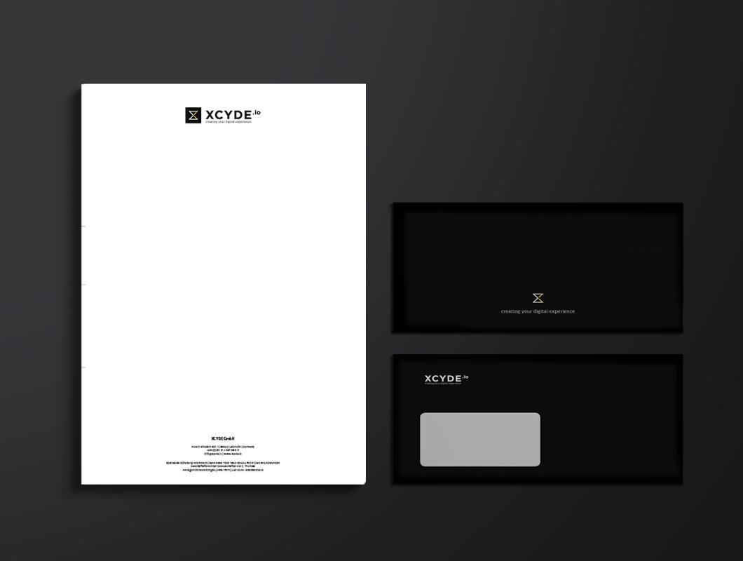 XCYDE_Geschäftsausstattung_Briefpapier