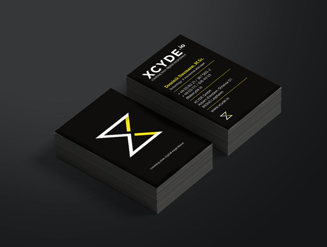 XCYDE_Geschäftsausstattung_Visitenkarten