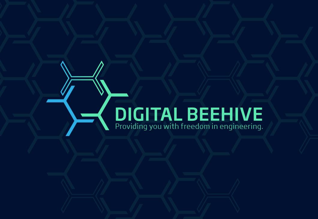 Cadcon DigitalBeehive Logo Entwicklung