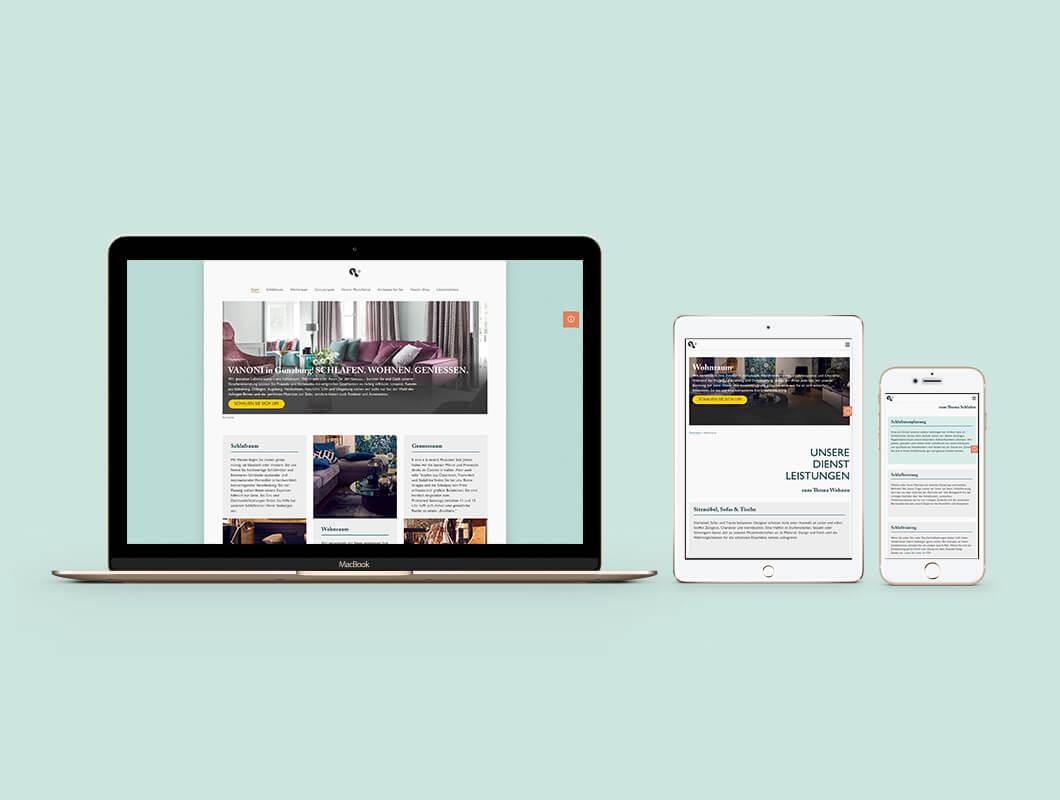 Vanoni-Webdesign-Webentwicklung