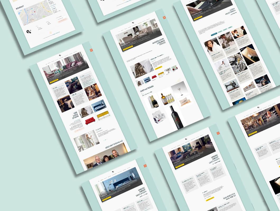 Vanoni-Webseitenaufbau-Sitemap